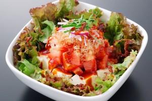 トマトと豆腐のサラダ(食道園)